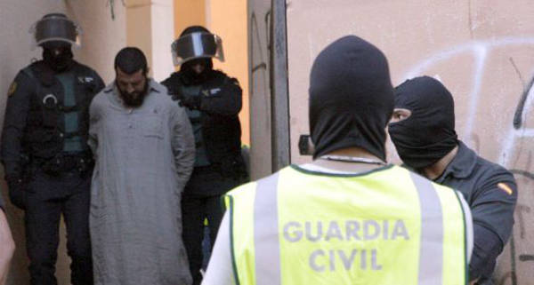 Mustafa Al Lal Mohamed, detenido en Melilla en mayo. / F. G. Guerrero (EFE)