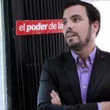 El candidato de Izquierda Unida a la Presidencia del Gobierno, Alberto Garzón. EFE