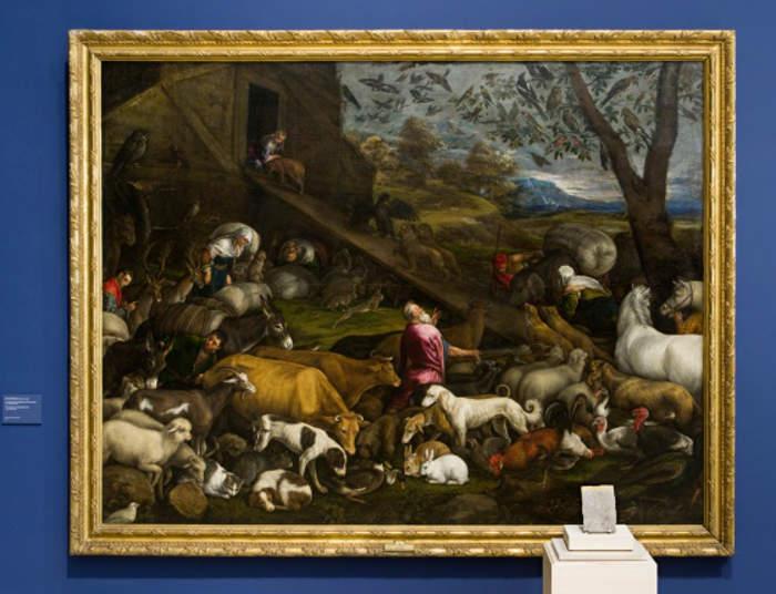 'Entrada de los animales en el arca de Noé', por Jacopo Bassano (1570) / Museo del Prado