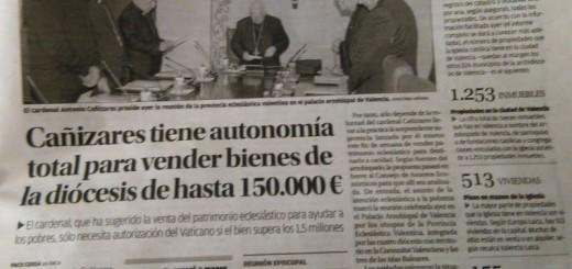 Bienes iglesia Valencia  20150210