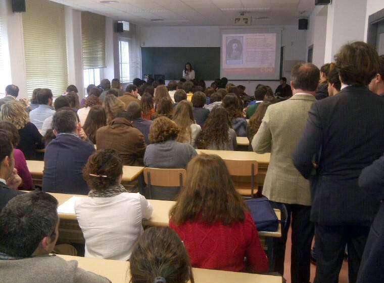 Cenizas en la Universidad Pablo Olavide 2014