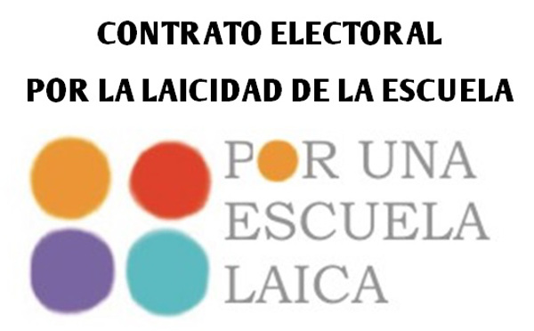Contrato electoral Escuela Laica enero 2015