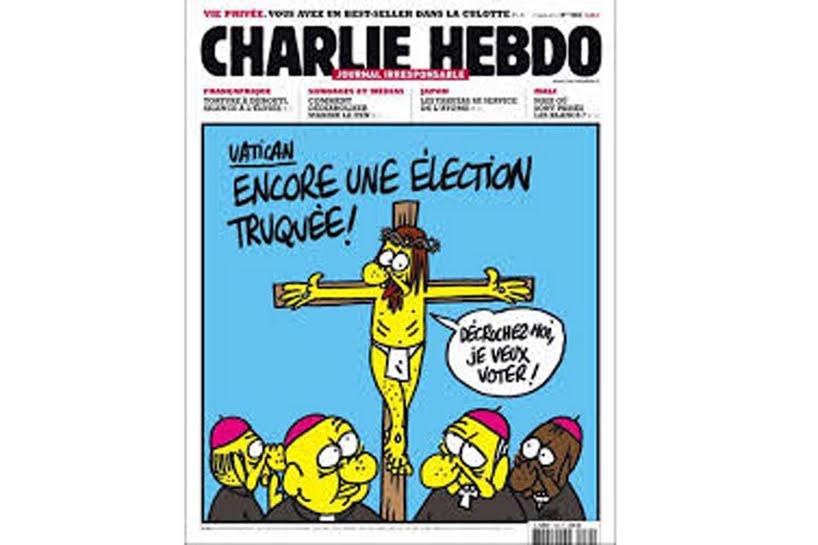 Cristo Charlie Hebdo