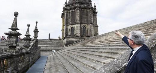 Las cubiertas del templo jacobeo han sido objeto de arreglos