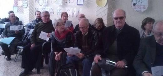 Representantes de Valencia Laica en la reunión de Xarxa Cristiana 2015