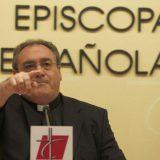 El portavoz de la Conferenci Episcopal, José María Gil Tamayo. CHEMA BARROSO.