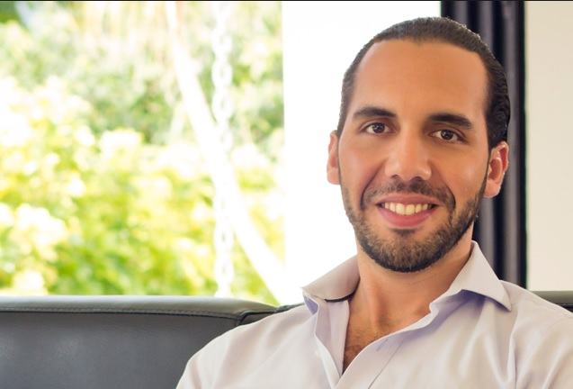 Nayib Bukele candidato alcalde El Salvador 2015