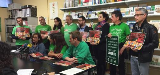 Miembros de la Plataforma de la Escuela Pública de la Región de Murcia