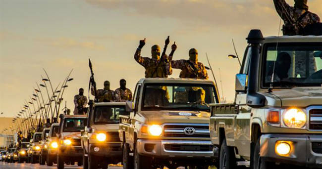 caravana milicias Estado Islamico Libia