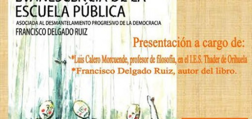 cartel evanescencia en Orihuela 2015