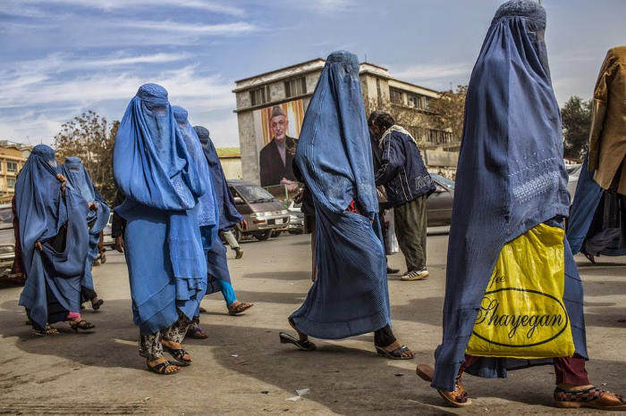 mujeres Kabul Afganistan 2015