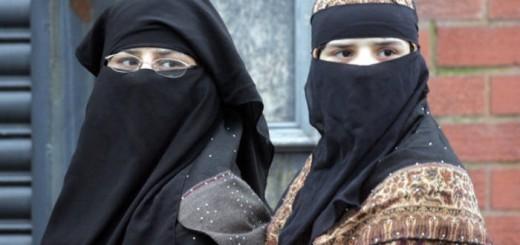 nujeres con niqab