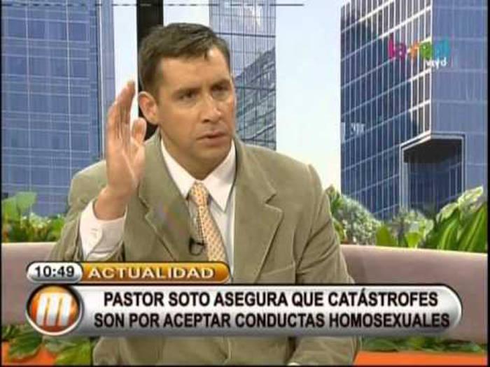 pastor Javier Soto Chile