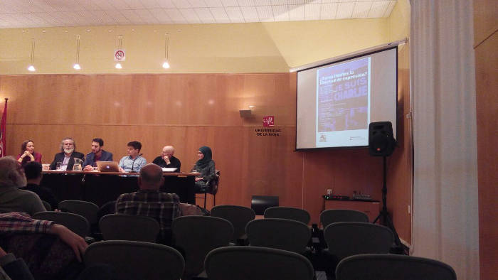 Acto Universidad Rioja 20150331 Pedro Salguero