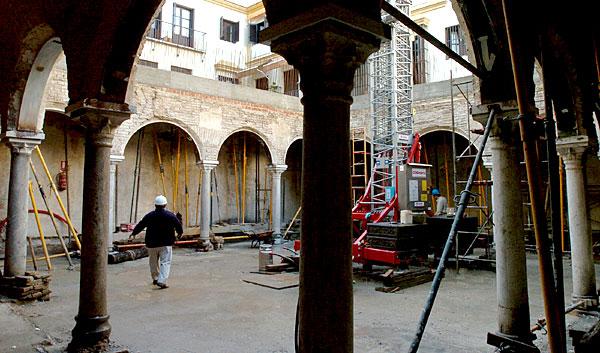 El ayuntamiento de sevilla cede los ba os de la reina mora a la hermandad de la vera cruz - Sevilla banos arabes ...