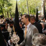 Felipe VI procesiones semana santa Sevilla 2015