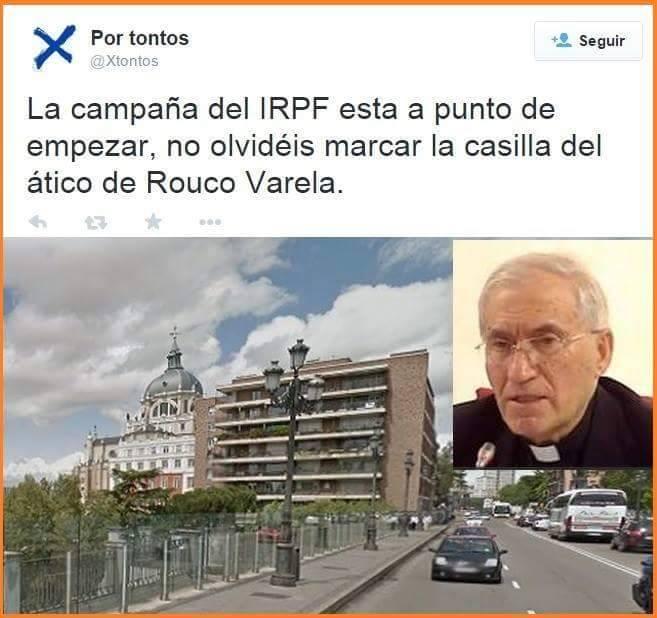IRPF y el pisito de Rouco