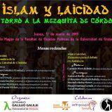 Cartel Islam y laicidad Seminario Galileo Galilei Granada 2015