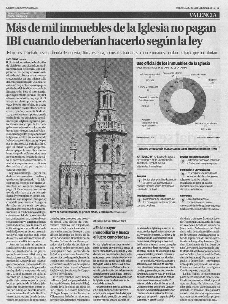Levante IBI iglesia Valencia  20150324