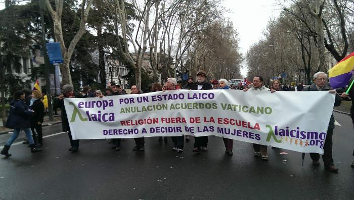 Marcha Dignidad 2015 a