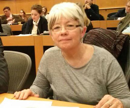Raquel Ortiz Parlamento Europeo Encuentro blasfemia 20150225 a
