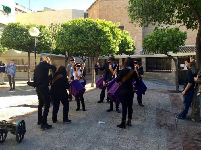 Semana santa escolar Murcia Barrio san Andres 2015 a