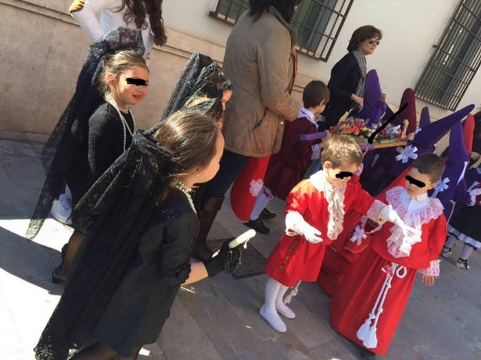 Semana santa escolar Murcia Barrio san Andres 2015 d
