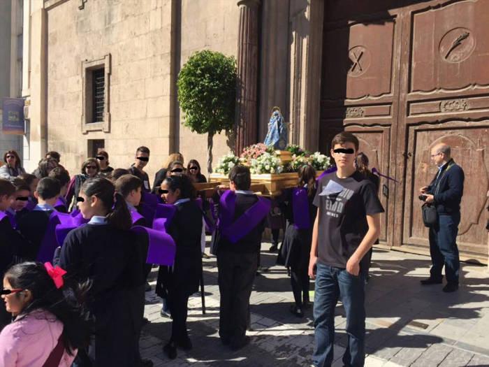 Semana santa escolar Murcia Barrio san Andres 2015 e