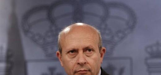 El ministro de Educación, José Ignacio Wert, en una imagen de archivo. / Uly Martín (EL PAÍS)