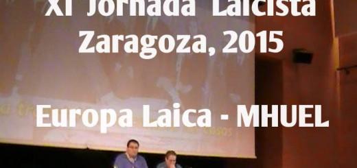 XI Jornada Laicista Zaragoza 2015