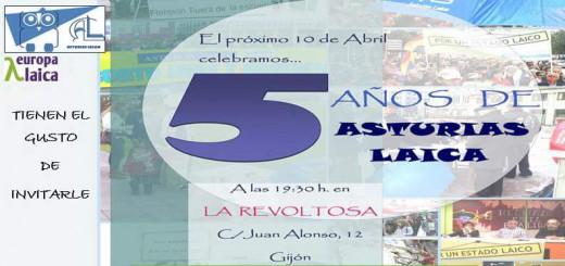 aniversario Asturias Laica 2015