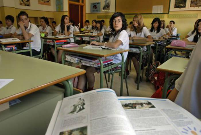 clase educacion ciudadania en Jaen 2007