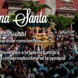 comunistas y semana santa en Sevilla 2015