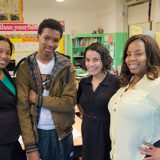 Estudiantes de uno de los centros neoyorquinos, en una imagen de la web del Departamento de Educación