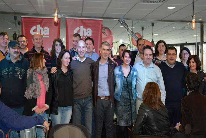 lista Chunta Zaragoza 2015