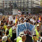 mani europa laica visita ratzinger Madrid