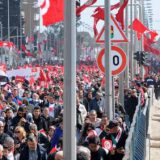 manifestacion atentados Tunez 2015