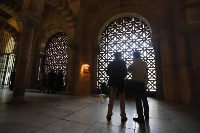 mezquita de Cordoba celosias