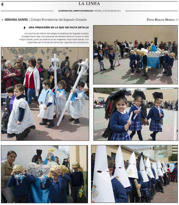semana santa escolar La Linea  cadiz 2015 b