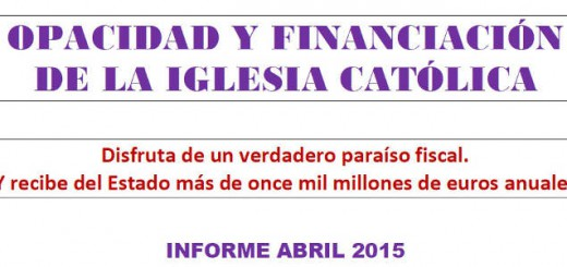 2015 Financiacion ICatolica