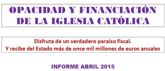 2015 Financiacion ICatolica