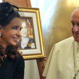 Bergoglio y Cristina Kirchner