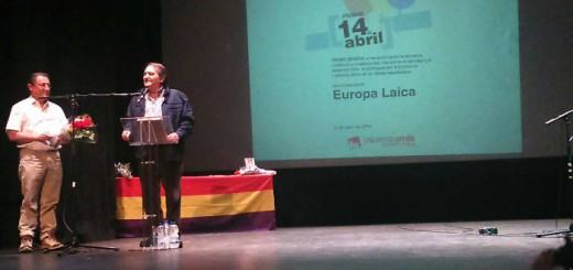 Homenaje a Europa Laica en Collado Villalba 20150409