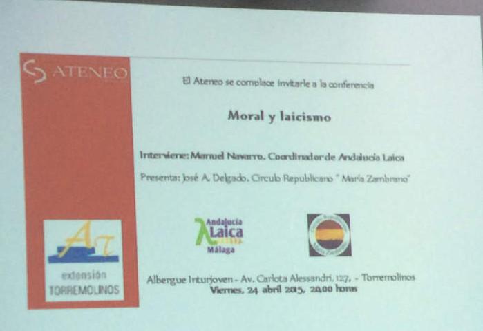 Laicismo y moral Torremolinos 20150424 a