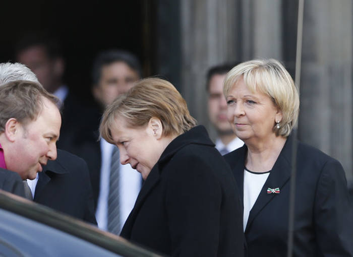 Merkel funeral accidente 2015
