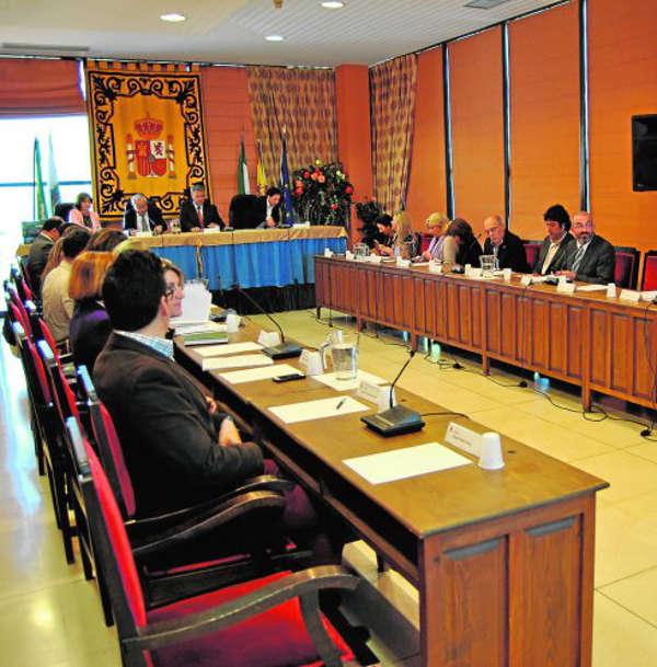 Pleno Estepona nombra virgen Carmen alcaldesa perpetua 2015