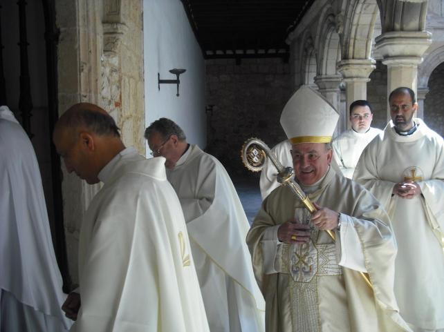 Vicente Jimenez arzobispo Zaragoza 2015