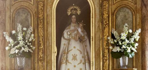 Virgen Remolino alcaldesa perpetua El Molar Madrid 2015