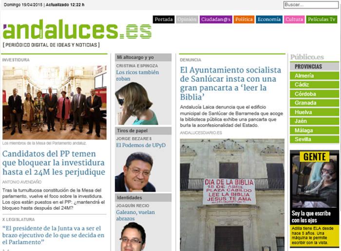 biblia Sanlucar portada Andaluces 2015