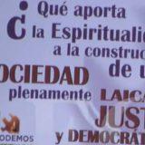 cartel espiritualidad Podemos